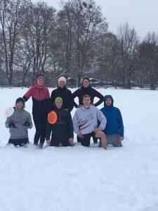 SFB trotzt dem Wetter, Training Januar 2017