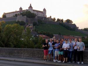 Open-Team in Würzburg zur DM, 2019